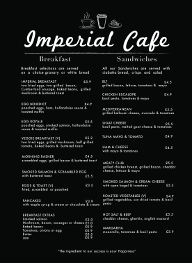 Loli - Imperial Cafe Takeaway page 1